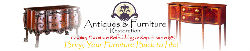 We Specialize In High Quality Refinishing, Restoration, And Repair Of Fine  Furniture U0026 Antiques. We Are Also Experts In High End Upholstery And Door  ...